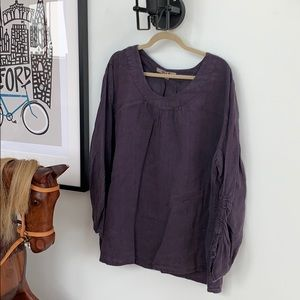 Flax poets blouse 2G